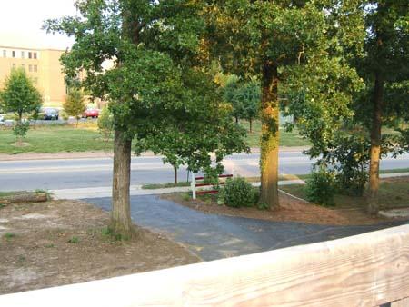 View from deck (Gorman Street)